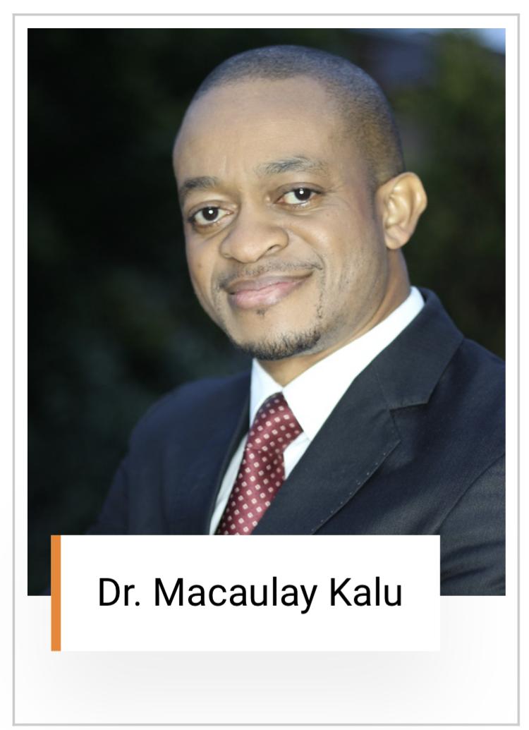 Dr Macaulay Kalu
